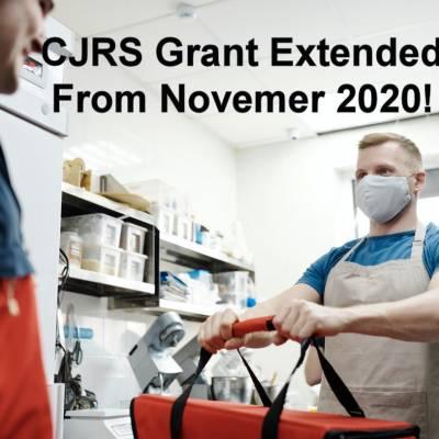 JSS Grant postponed – CJRS Grant extended from November 2020!