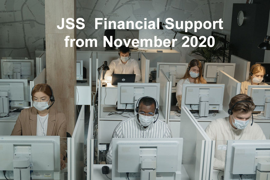 JSS financial support from Nov 2020-50%+50% -up
